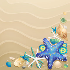 Wall Mural - sand background