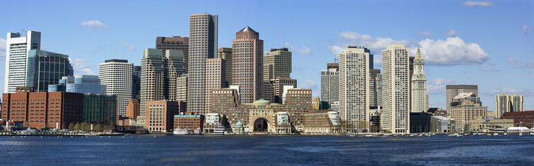 Panorama shore of Boston