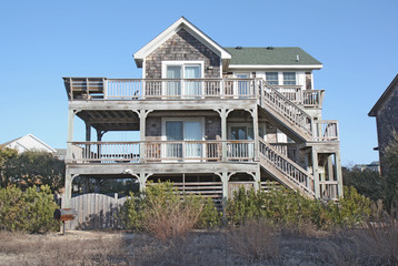 Beach house in North Carolina