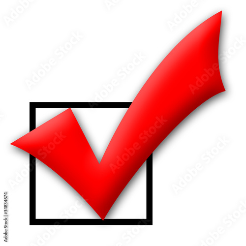 Red Tick Box : Quot red tick box stock photo and royalty free images on