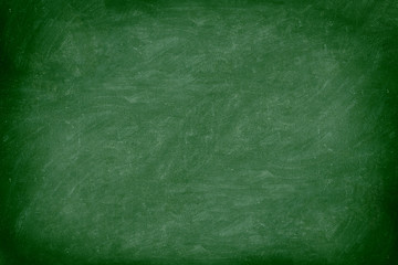 chalkboard / blackboard in green