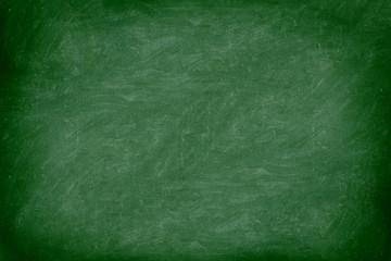 chalkboard / blackboard in green Wall mural