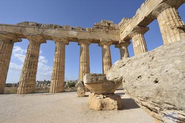 griechische Tempelsäulen