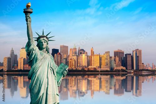 new york statue de la libert photo libre de droits sur. Black Bedroom Furniture Sets. Home Design Ideas