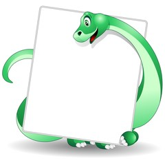 Dinosauro Cucciolo Pannello-Baby Dinosaur Panel Background