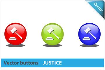 Botón justicia colores RGB