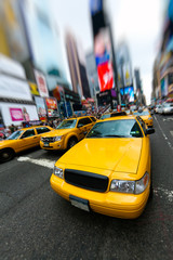 Wall Mural - New York taxi