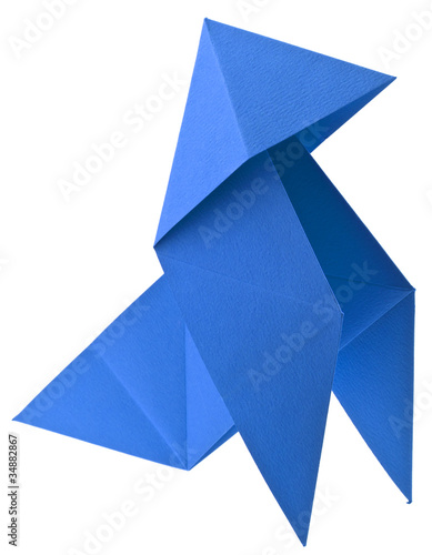 origami pliage cocotte papier photo libre de droits sur la banque d 39 images image. Black Bedroom Furniture Sets. Home Design Ideas