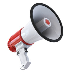 Megaphone - bottom view
