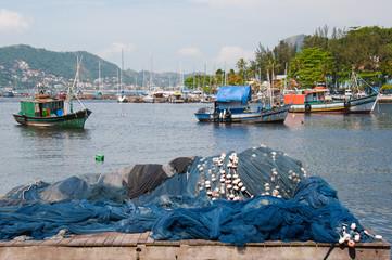 Fishing boats, Rio de Janeiro, Brazil