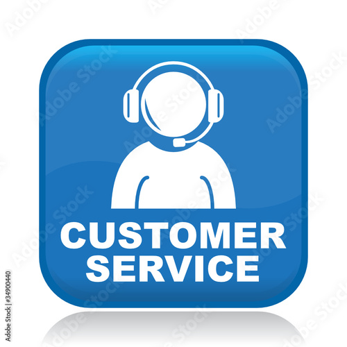 """""""CUSTOMER SERVICE ICON"""" Stock image and royalty-free ..."""