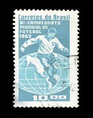Selo postal Brasil