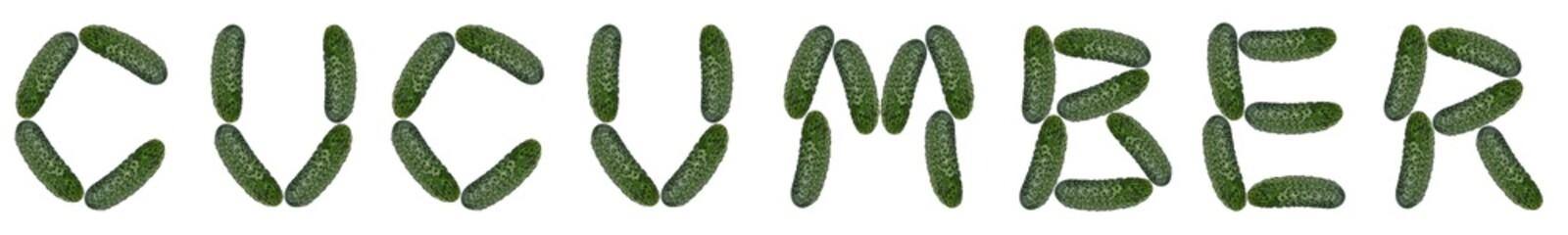 cucumber , alphabet
