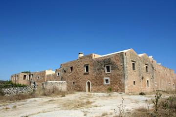Crète - Monastère dArkadi (l'arrière)