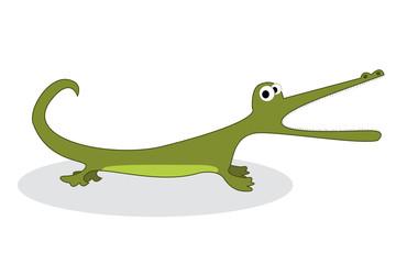 Clip art crocodile