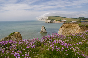Freshwater bay auf der Isle of Wight
