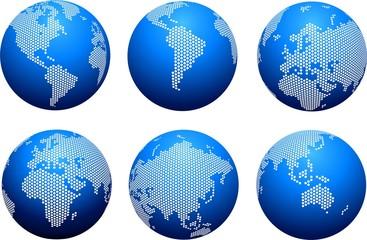 Planeta Continentes