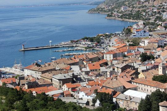 Hafen von Senj (nah)