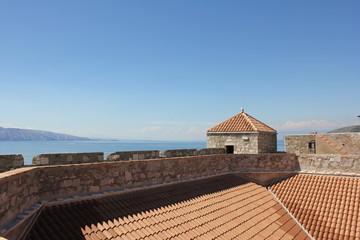 Auf der Festung Nehaj vor der Adria