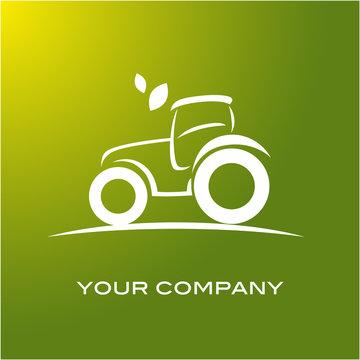logo tracteur, tracteur, agriculteur, agriculture