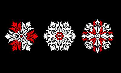 Vector Ornamental Design Set
