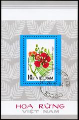 VIETNAM - CIRCA 1984 Delonix (sheet)