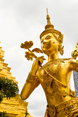 Golden Angel, Wat Pra Kaew, Thailand
