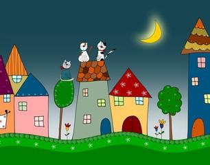Obraz Illustration for children - fototapety do salonu