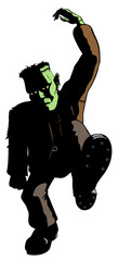 Frankenstein's Monster Dances