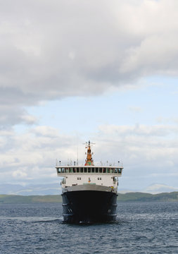 A ferry in the scottish highlands