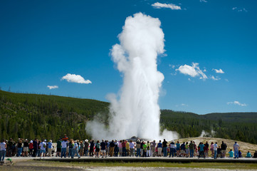 Old Faithful, Yellowstone National Park, USA