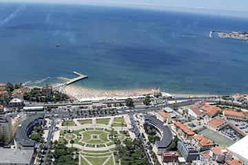 beach in Cascais city, Portugal
