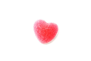 Heart sign jelly background