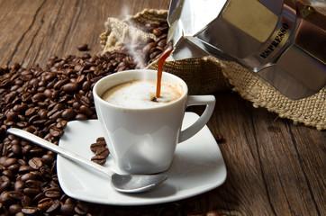 Tuinposter koffiebar caffè