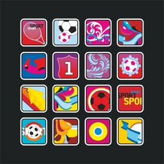 square sports icons