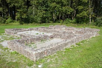 Ausgrabung Wehranlage des Obergermanischen Limes des Römereiches