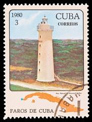 CUBA - CIRCA 1980:  faro Roncali S.Antonio, P.del Rio