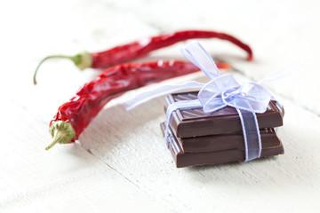 scharfe Schokolade
