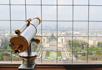 Eiffel Tower observatory