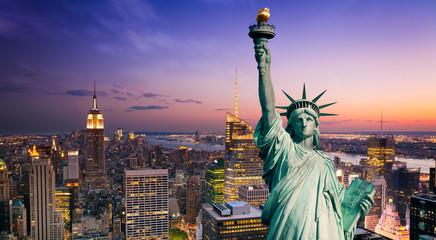 Wall Mural - New York statue de la Liberté