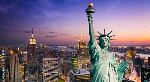 Wall mural New York statue de la Liberté