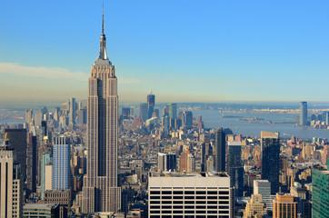Aerial view of Manhattan