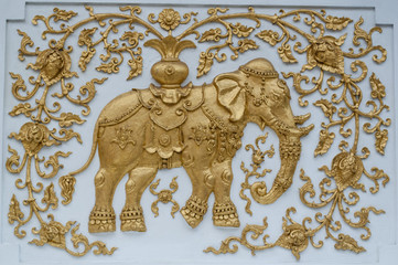 golden elephant stucco