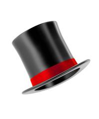 magic hat isolated on white background