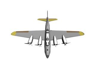 bombing plane