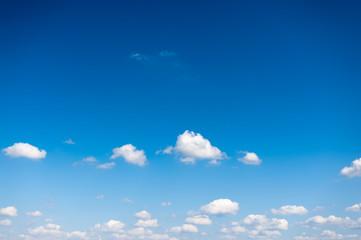 Himmel mit Cumulus