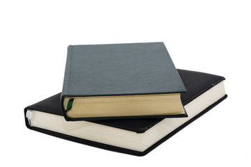 Blank book with bookmark isolated in white background
