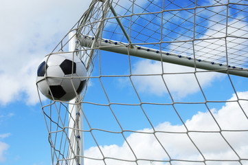 Fototapeta soccer gool