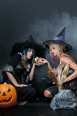 Witches with Snake