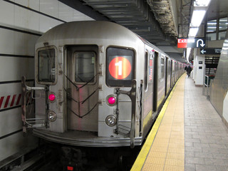 subway train